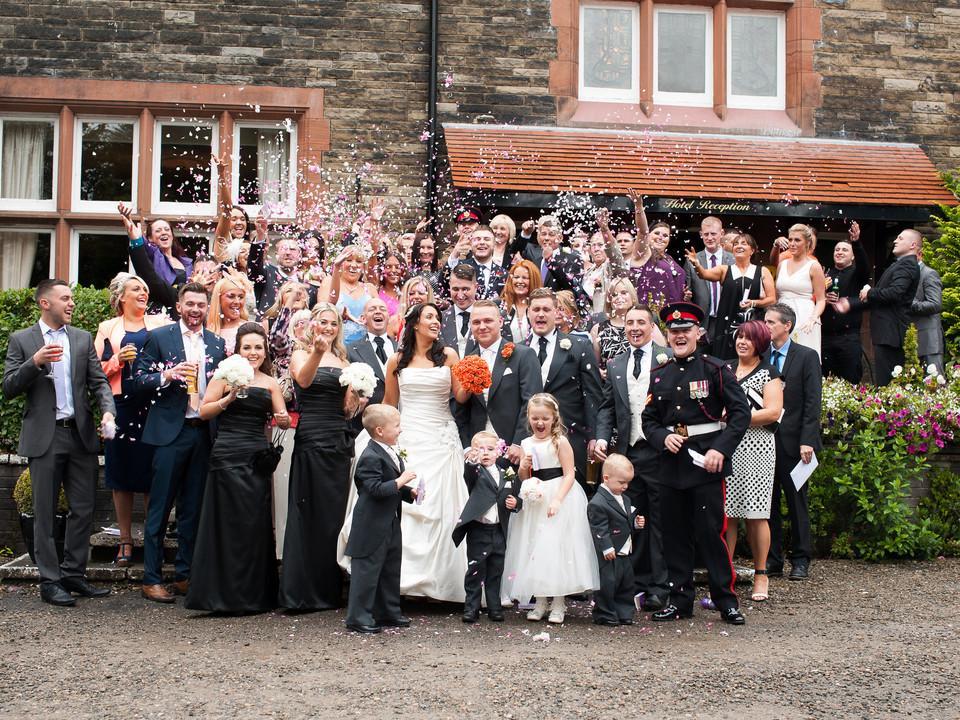 Celebrating wedding Community