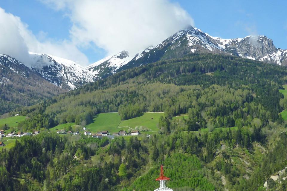 verdant mountains