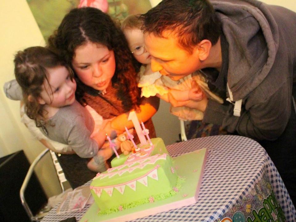 first birthday, photo, gift