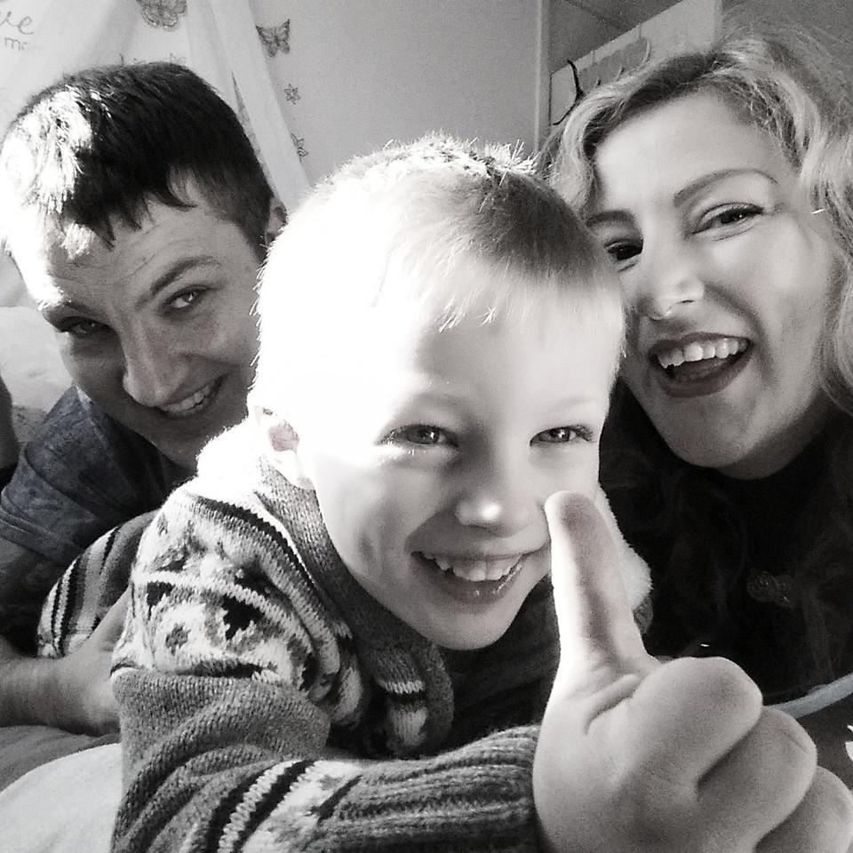 selfie, family, photo, cute