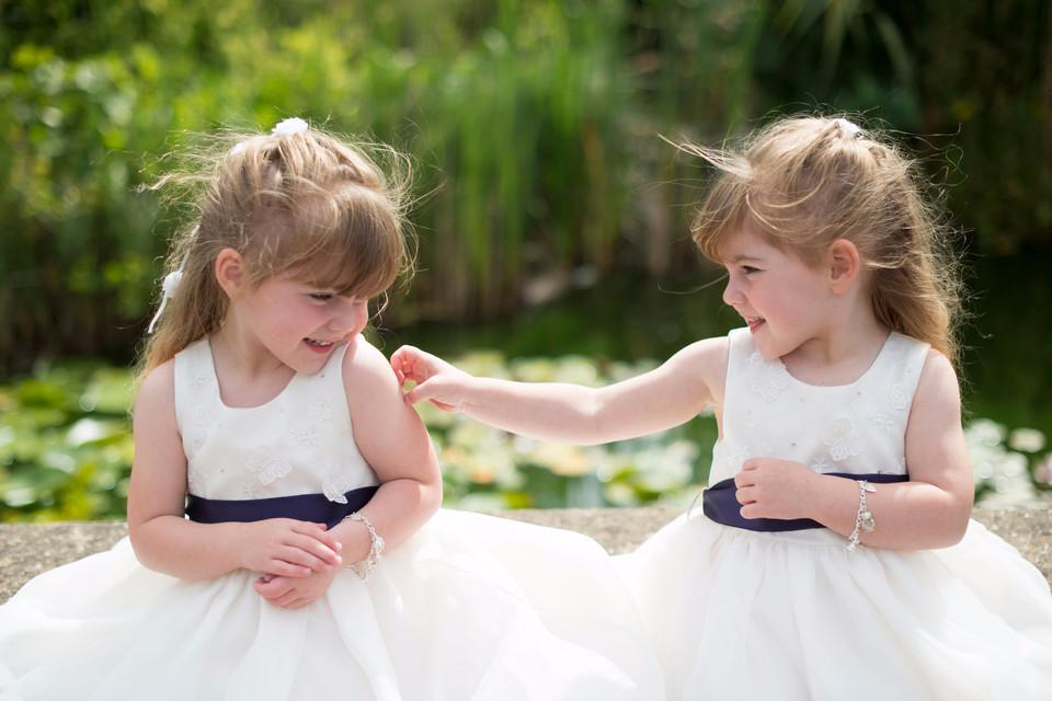 canvas, wedding, twins, cute