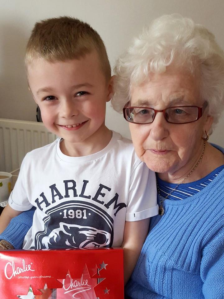 family, grandma, grandson