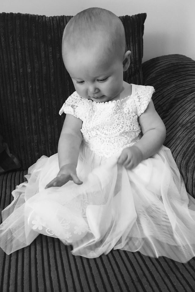 baby, cute, christening, canvas
