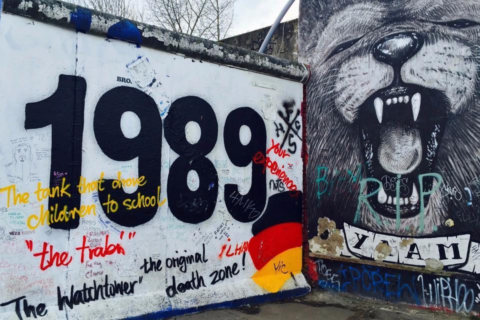 Berlin, the wall, cold war, graffiti