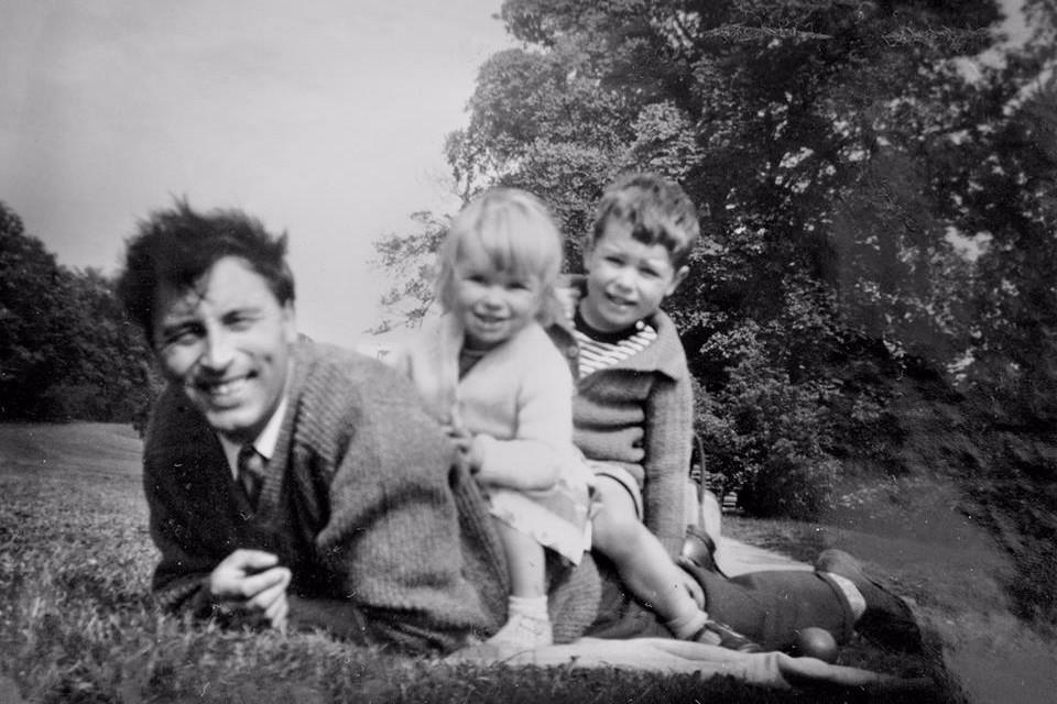 Yorkshire, family, 60's, black and white