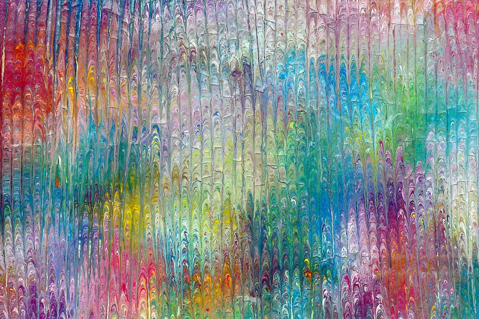 colours, dripping, impressionism