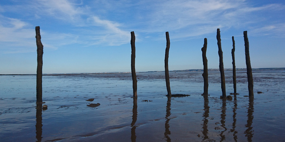 sea, coast, fishing, past, time