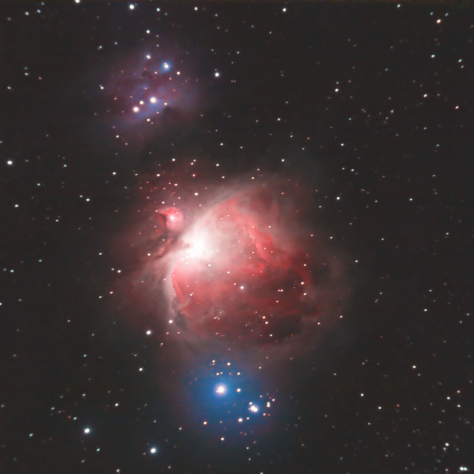 Orion, telescope, distant, galaxies, universe, beautiful, space