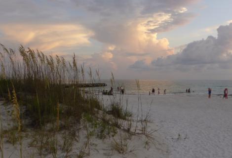 Florida, Beach in Beige