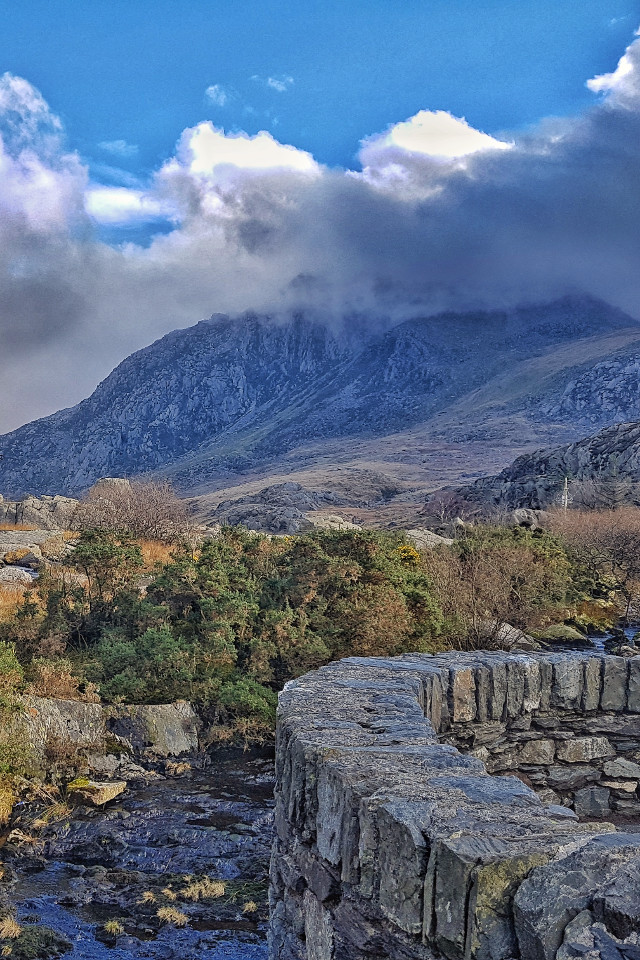 Wales, North Wales, landscape, mounatins, Tryfan