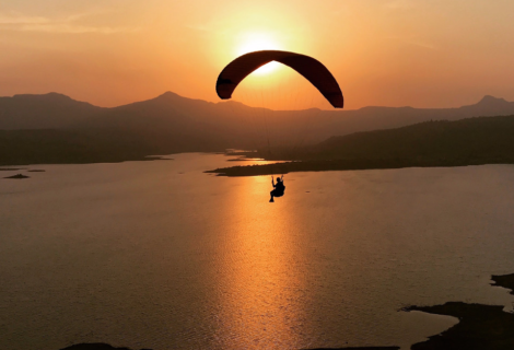 Crossing the Sun in India